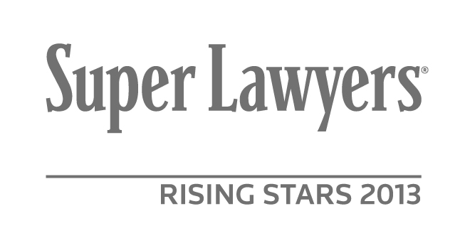 Super Lawyers® Rising Stars 2013